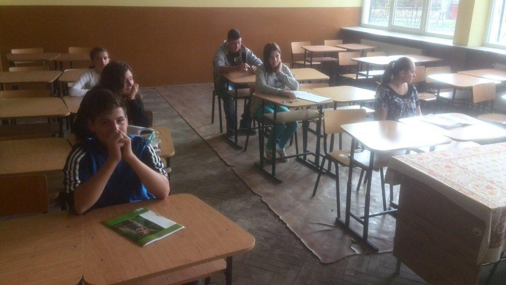 Marius, Elena, Ximina - Emotionen vor den Nachholprüfungen